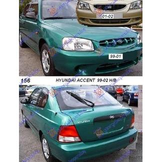 ACCENT H/B 99-02