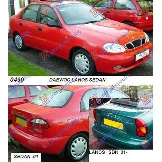 DAEWOO LANOS SDN 97-08