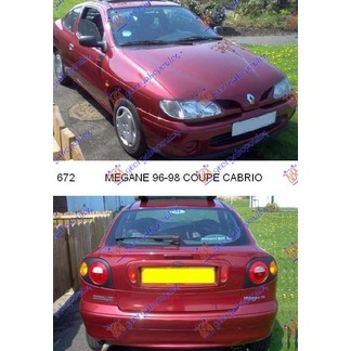 MEGANE COUPE-CABRIO 96-98