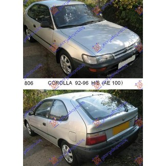 COROLLA (E 10) H/B (3/5D) 92-96
