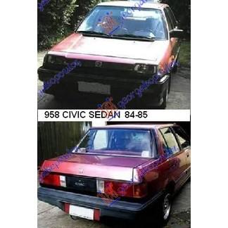 CIVIC SEDAN 84-85