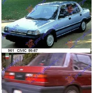 CIVIC SEDAN 86-87