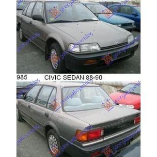 CIVIC SEDAN 88-90