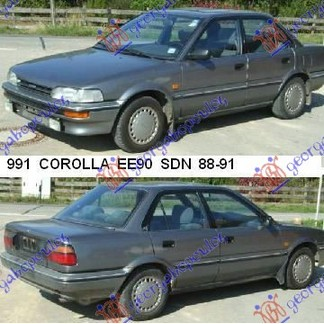 COROLLA (E 9) SDN 88-91