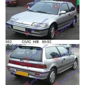 CIVIC H/B 90-92